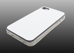 iPhone 4S Mirage Leather Case White