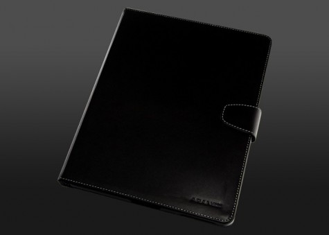 iPad 3 Notebook Kangaroo Leather Case